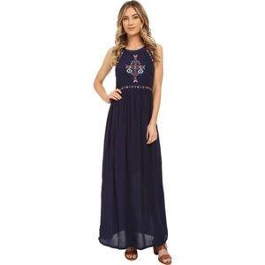 Rip Curl Blue Lolita Maxi Dress
